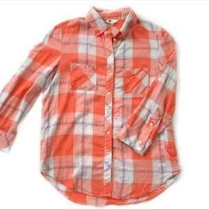 Kut from the Kloth • Plaid Cotton Shirt